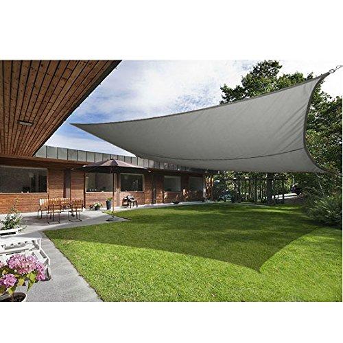 Greenbay Sonnensegel Greenbay Sonnensegel Segel | Spnnenschutz für Balkon | Rechteck | ca. 500 x 400 cm | Anthrazit