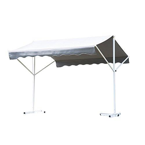 Outsunny Standmarkise 4m Outsunny Standmarkise |  ca. 295 x 345 cm | Grau
