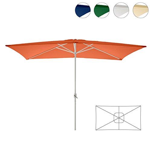 Nexos Sonnenschirm Nexos Sonnenschirm | orange | ca. 200 x 300 cm | quadratisch