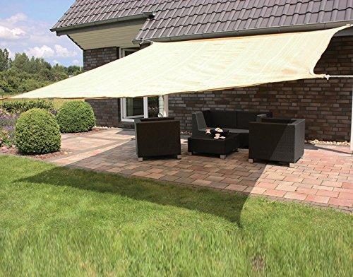 Consul Sonnensegel Consul Garden Sonnensegel | Natur | ca. 500 x 500 cm